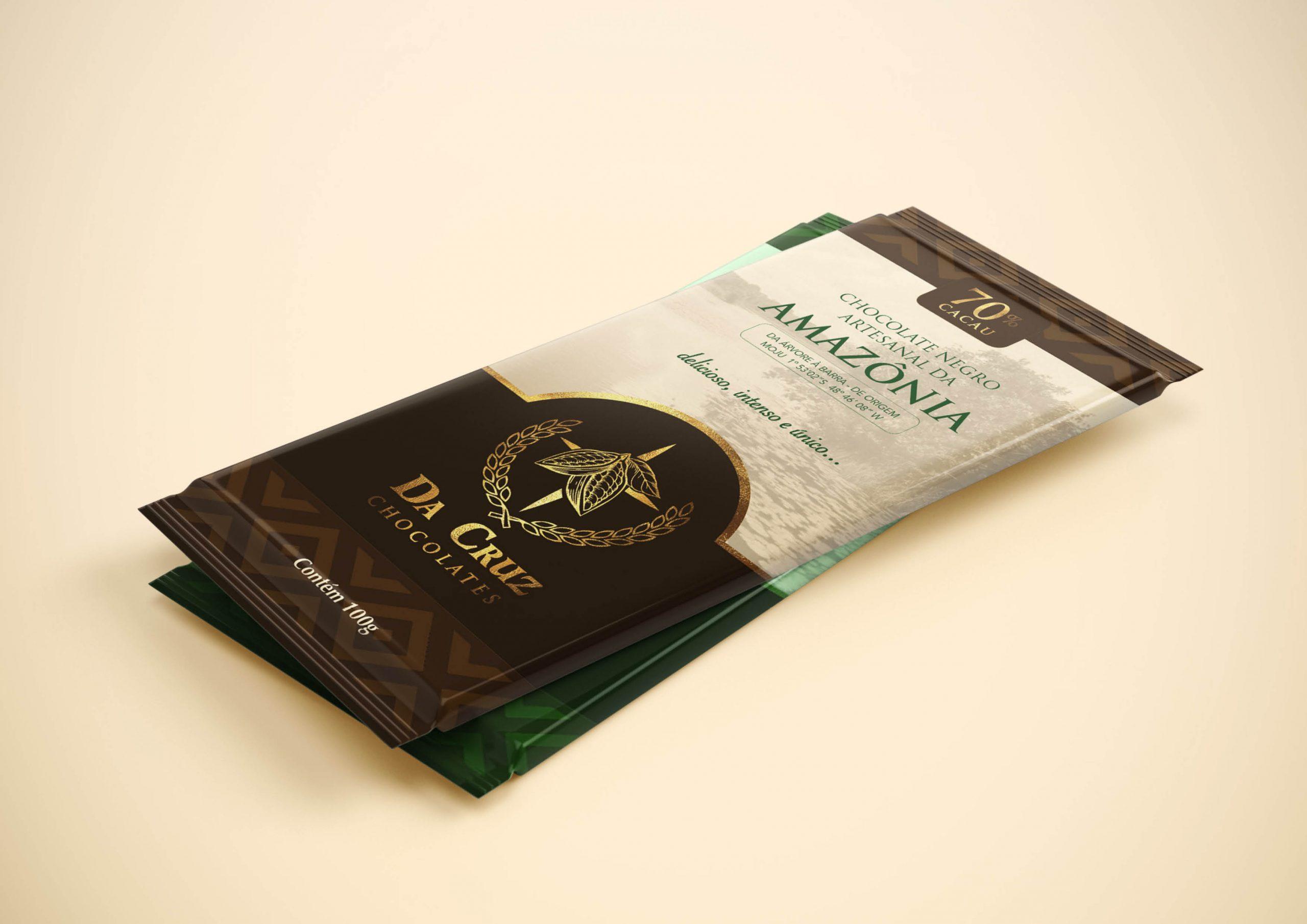 Embalagem DaCruz Chocolates
