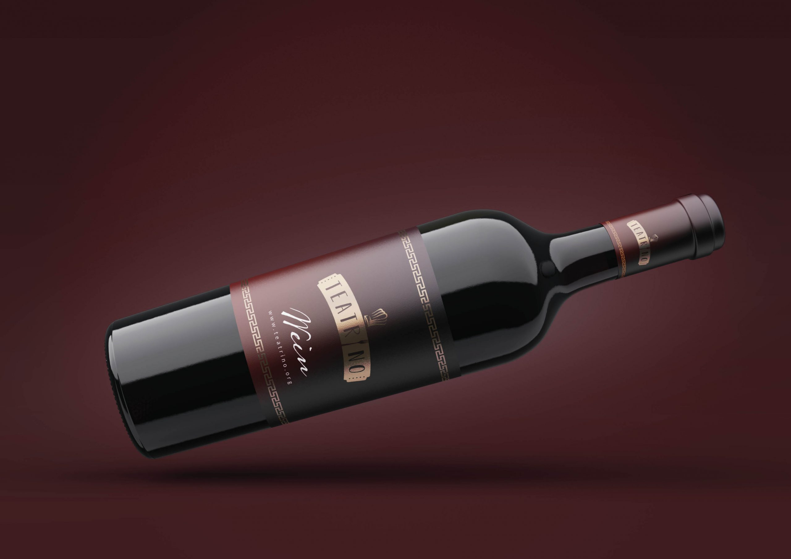 Teatrino Wein Label
